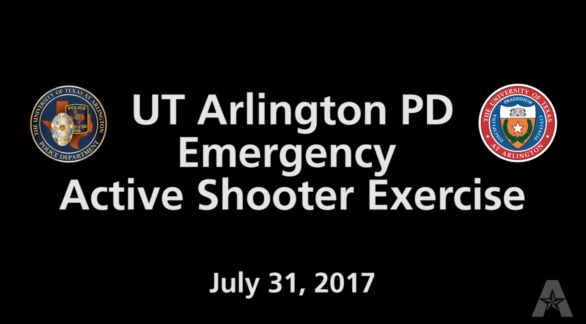 Active Shooter Video Image